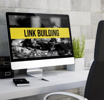 custom link building concept