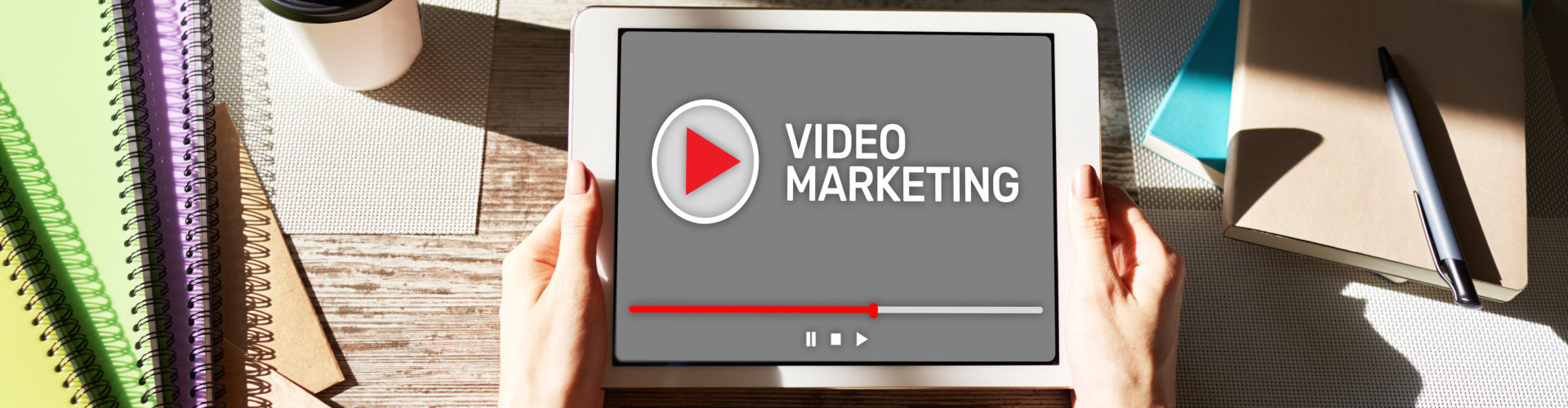 video marketing concept